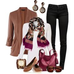 """""""Autumn Red"""" by smores1165 on Polyvore"""