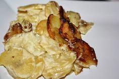 Silloin kun ne on hyvin tehtyjä. Gourmet Recipes, Cooking Recipes, My Cookbook, Potato Recipes, Potato Salad, Feta, Side Dishes, Food And Drink, Potatoes