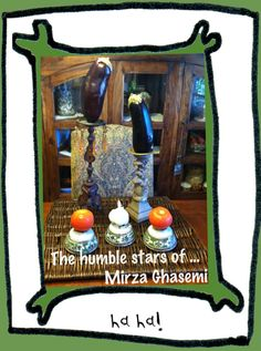 The humble stars of Mirza Ghassemi - a Persian vegetarian eggplant dish -- Guest post by Yvonne joon!