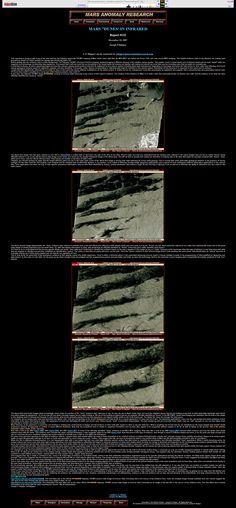 Mars Dunes in Infrared