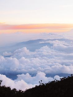 Mt Kinabalu #borneo #kinabalu #clouds