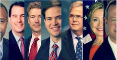 Where do announced and potential 2016 presidential candidates for the Republican nomination stand on late abortions?