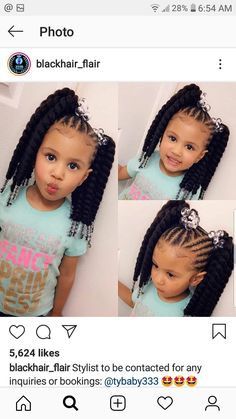 59 Ideas For Baby Girl Hairstyles Black Future Daughter Baby Baby Baby Baby Girl Hairstyles bab Baby Black daughter Future girl hairstyles ideas Lil Girl Hairstyles, Black Kids Hairstyles, Natural Hairstyles For Kids, Kids Braided Hairstyles, Short Hairstyles, Girls With Black Hair, Braids For Black Hair, Braids For Kids, Girls Braids