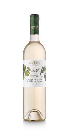 Nueva imagen de nuestro vino blanco Verdejo. Un diseño minimalista para un vino de altura.