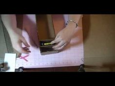 cardboard ink pad storage tutorial.avi