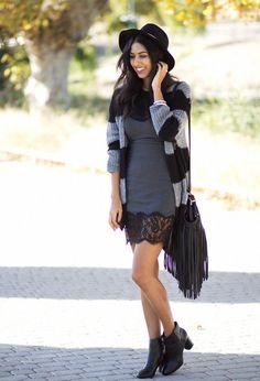 Originales chalecos cardigan | Outfits de moda