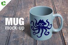 Mug Mock-Up by Colatudo Store on @creativemarket