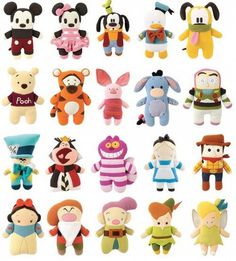Great gift for the kids, Disney's Pook-a-Looz…soft plush characters, between 8 and 13 bucks each.  I WANT ALL OF THESE!