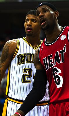 Paul George & LeBron James My 2nd and 3rd favorite players