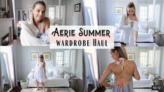 Comfy casual clothes, my quarantine appropriate Aerie summer clothing haul.