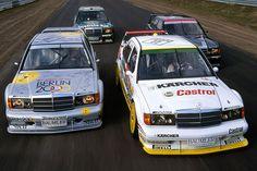 Mercedes Benz 190 Evolution race cars - DTM