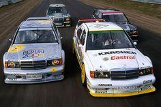 Mercedes Benz 190 Evolution race cars - DTM