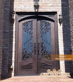 Abby Iron Doors & Abby Iron Doors   Iron Entry Doors   Pinterest   Popup Iron doors ... pezcame.com