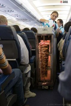food, turkish airlines offers a new food service