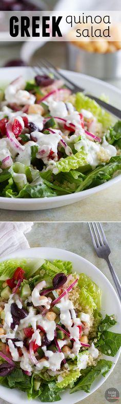 Greek Quinoa Salad i