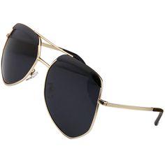 Unisex Sunglasses Big Frame Polygon Lovers Polarized Sunglasses Women Men Unisex 4 Colors 2016 New Fashion Glasses Hot Sale
