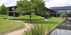 Ontwerp tuin bedrijfsterrein Duitsland   Wirtz Tuinarchitectuur