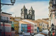 #Pelourinho is the gorgeous #historical part of #Salvador jn #Brazil that feels like walking back in time. #Bahia #SouthAmericaUnknown