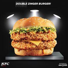 Azla yetinmeyip hep daha fazlasını isteyenlere KFC'den Double Zinger Burger! Mükemmel lezzetleriyle KFC, #MaltepePark 2. Katta!