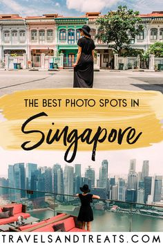 The best photo spots in Singapore. Instagram-worthy places in Singapore. #Singapore #photography