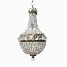 Französischer Vintage Kristallperlen Kronleuchter Jetzt bestellen unter: https://moebel.ladendirekt.de/lampen/deckenleuchten/kronleuchter/?uid=6133c725-8ec2-5872-9d87-20f6726e4f1f&utm_source=pinterest&utm_medium=pin&utm_campaign=boards #deckenleuchten #kronleuchter #lampen