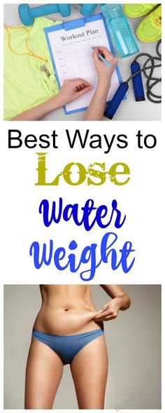 Water weight creeps up on all of us! Lose extra pounds with these best ways to lose water weight. Weight Loss | Weight Loss Tips | Cleanse Tips | How to Lose Weight | Dieting Tips