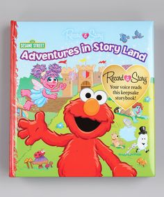 Grandma wants one for my Logi-bear. Take a look at this Adventures in Story Land Hardcover by Sesame Street on #zulily today!