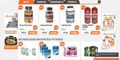 E-shop NUTRISPORT je produce sportovní a fitness výživy. Fitness, Shopping
