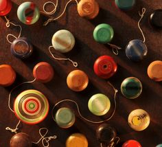 Vintage Yo-Yos...since he started buying them for me in 1997 I have over 300 of them