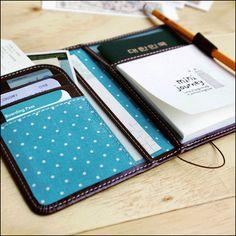 Mini Passport Case Cover Holder Travel Wallet