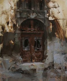 The Blind Door by Tibor Nagy Oil ~ 24 x 20 Landscape Art, Landscape Paintings, Landscapes, Painting Competition, Wow Art, Traditional Paintings, Cool Paintings, City Art, Urban Art