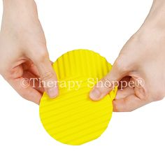 Our awesome new Wavy Chip Fidgets™ are realistic-looking, sturdy (rubbery) potato chips with fiddle ridges that are just perfect for skin pickers, finger nail biters, stressed out folks who have restless fidgety fingers, and tactile sensory seekers who like to strum, trace, dig, and run their fingers across/inside unique textury surfaces! These neat chips come in a 2-pack that will keep all your fingers and both hands busy. They make a terrific office desk toy, too. Office Desk Toys, Dermatillomania, Fidget Toys, Sensory Toys, Potato Chips, Fingers, Stress, Hands, Nail