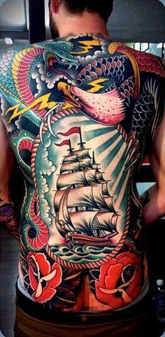 Tattoo Masters Tattoo done byTim Hendricks. @timhendricks via Tumblr