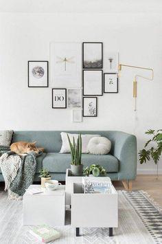 These smart IKEA table hacks solve two problems simultaneously.:separator:These smart IKEA table hacks solve two problems simultaneously. Apartment Interior Design, Modern Interior Design, Room Interior, Kitchen Interior, Interior Ideas, Ikea Living Room, Living Rooms, Blue Couch Living Room, Design Salon