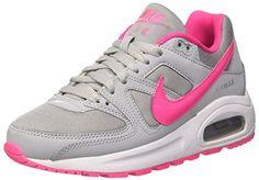 reputable site 21819 3c28b Nike Air Max Command Flex (GS)- Chaussures de running Fille, Gris (Wolf  Grey   Pink Blast-White), 36 EU  – Chaussures Enfant Nike – Modèle…