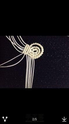 小花胸针教程来了 第13步 Knots, Hair Bow, Tutorials, Buttons