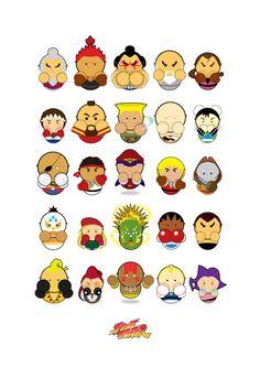 Street Fighter by Paul Novak, via Behance