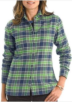 The classic flannel button up. It's as soft as it is stylish. The perfect top all fall and winter long! http://www.logosoftwear.com/