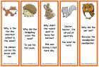 British wildlife animal bookmarks - with jokes Free Printable Bookmarks, Bookmarks Kids, Wildlife Day, British Wildlife, Kids Prints, Jokes, Reading 2016, Wild Life, Animal
