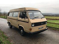 eBay: VOLKSWAGEN T25 DEVON CAMPER VAN 1981 MOTORHOME RETRO VW