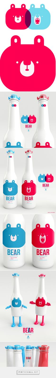 ICE BEEAR on Behance by Aaron Martinez curated by Packaging Diva PD there's not a whole lot more to this design but it is unbearably cute #packaging created via https://www.behance.net/gallery/ICE-BEEAR/10780621