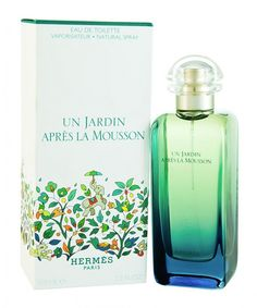 UN JARDIN.....perfume by hermes  all time favorite....