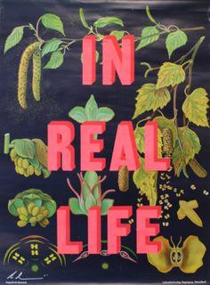 In Real Life Dave Buonaguidi Print Club London Screen Print London Clubs, New Print, Typography Prints, Wall Prints, Screen Printing, Real Life, Illustration, Image, Art