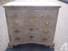 Pair of Shell Chippendale Style Block Front Chests 103