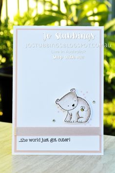 Jo's Stamping Spot - Global Design Project #092 using A Little Wild and Little Loves framelits by Stampin' Up!