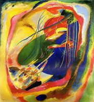 Wassily Kandinsky. Painting with Three Spots, 1914