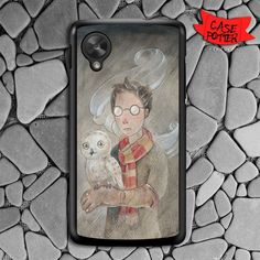 Harry Potter And The Owl Nexus 5 Black Case