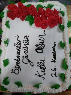 Öğretmenler günü için  pastamız 🤗
