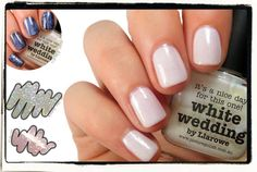 piCture pOlish White Wedding mani creation by Naildarella!