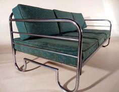 SOFA BAUHAUS TAGESBETT COUCH 1930 Art Deco von FERDINAND CHRISTALL auf DaWanda.com